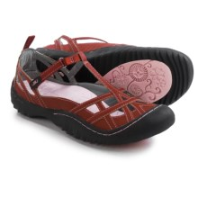 JBU by Jambu Margo Vegan Leather Sandals (For Women) in Red - Closeouts