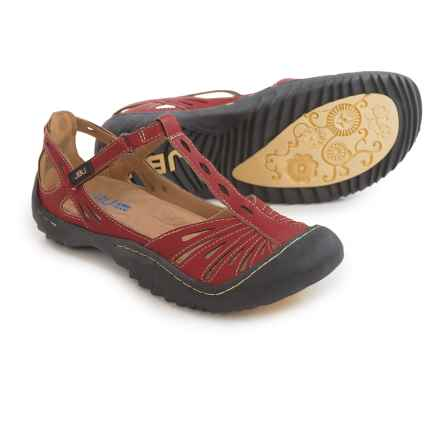 JBU by Jambu Melon Sandals - Vegan Leather (For Women) in Red - Closeouts