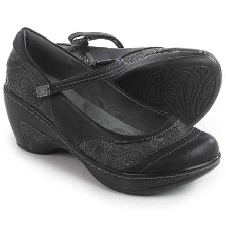 JBU by Jambu Melrose Mary Jane Shoes - Vegan Leather (For Women) in Black - Closeouts