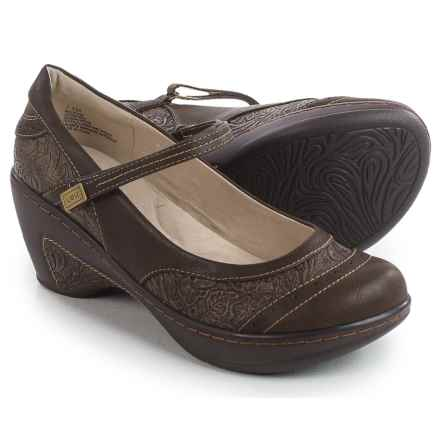 JBU by Jambu Melrose Mary Jane Shoes - Vegan Leather (For Women) in Brown - Closeouts