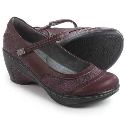 JBU by Jambu Melrose Mary Jane Shoes - Vegan Leather (For Women) in Burgundy - Closeouts