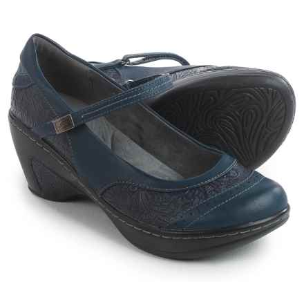 JBU by Jambu Melrose Mary Jane Shoes - Vegan Leather (For Women) in Navy - Closeouts