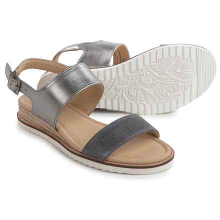 JBU by Jambu Myrtle Sandals - Leather (For Women) in Charcoal - Closeouts