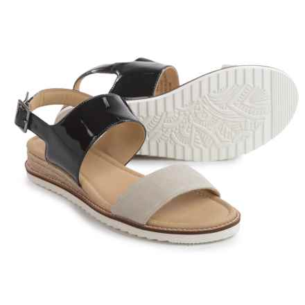 JBU by Jambu Myrtle Sandals - Leather (For Women) in Tan - Closeouts