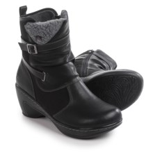 JBU by Jambu Sandalwood Ankle Boots - Vegan Leather (For Women) in Black - Closeouts