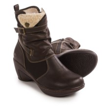 JBU by Jambu Sandalwood Ankle Boots - Vegan Leather (For Women) in Brown - Closeouts