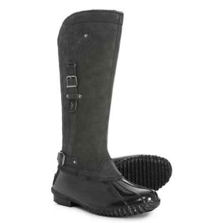 JBU Colorado Encore Duck Boots - Vegan Leather (For Women) in Black