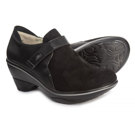 fa0aa8ab7dce2 JBU Sedona Wedge Slip-On Shoes - Vegan Leather (For Women) in Black