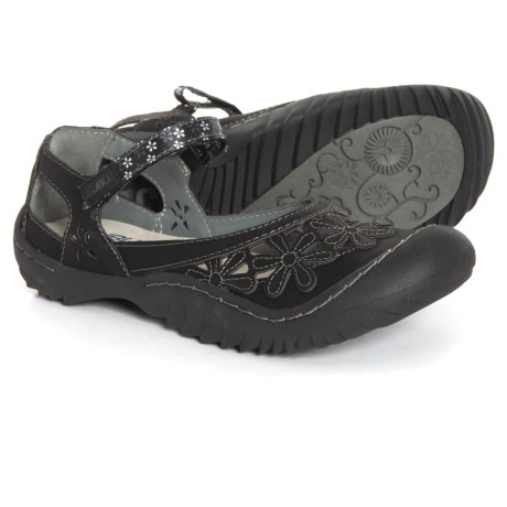 ebbfff572d8 JBU Wildflower Mary Jane Shoes - Vegan Leather (For Women) in Black