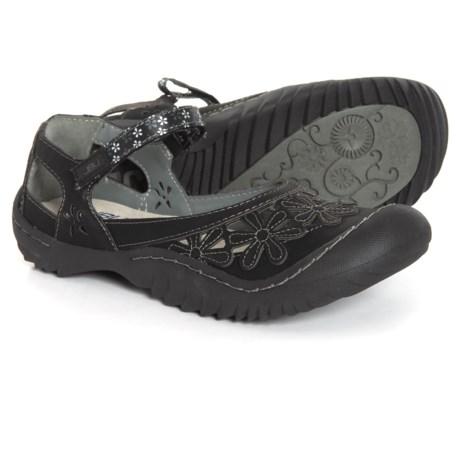 ebbfff572d8 JBU Wildflower Mary Jane Shoes - Vegan Leather (For Women) in Black