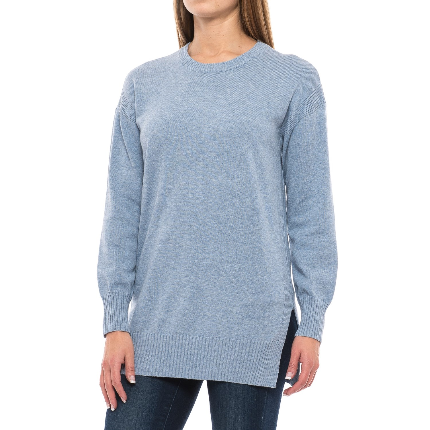 Jeanne Pierre Crew Neck Sweater (For Women) - Save 62%