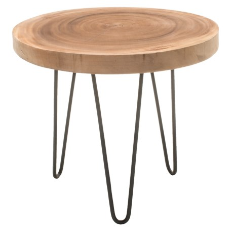 Jeffan Freeform Side Table in Natural