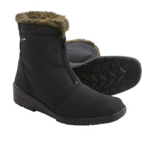 Jenny by Ara McCall Snow Boots - Waterproof (For Women) in Black - Closeouts