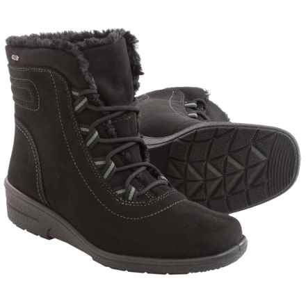 Jenny Munchen Snow Boots - Waterproof, Insulated (For Women) in Black - Closeouts