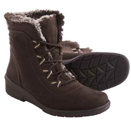 Jenny Munchen Snow Boots - Waterproof, Insulated (For Women) in Brown - Closeouts