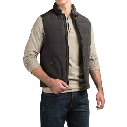 Jeremiah Aberdeen Vest - Reversible, Insulated (For Men) in Black - Closeouts