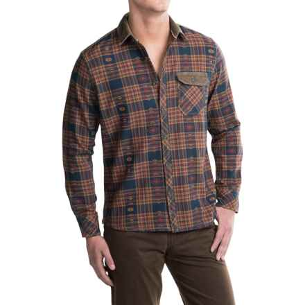 Jeremiah Alton Plaid Shirt - Long Sleeve (For Men) in Henna - Closeouts