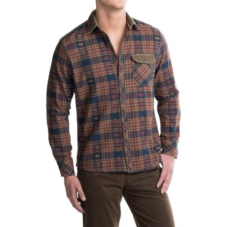 Jeremiah Alton Plaid Shirt - Long Sleeve (For Men) in Henna