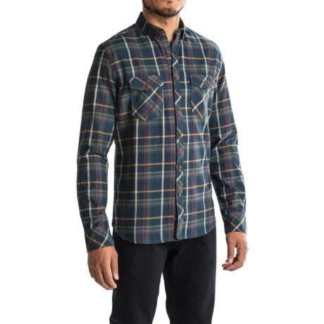 Jeremiah Barrett Flannel Shirt - Long Sleeve (For Men) in Admiral