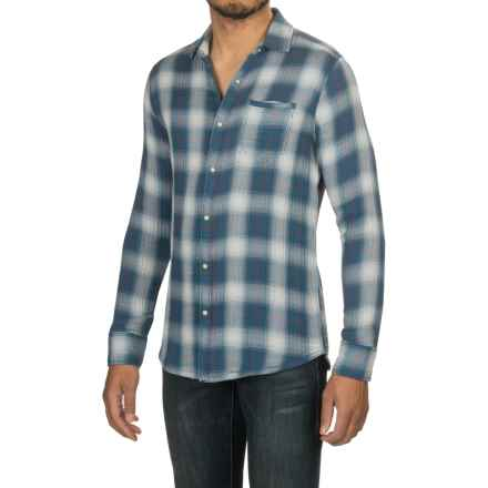 Jeremiah Brodie Reversible Shirt - Long Sleeve (For Men) in Ensign Blue - Closeouts