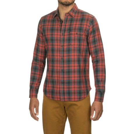 Jeremiah Buckingham Reversible Printed Shirt - Long Sleeve (For Men) in Barn