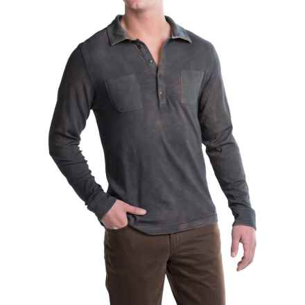 Jeremiah Colin Polo Shirt - Long Sleeve (For Men) in Admiral - Closeouts