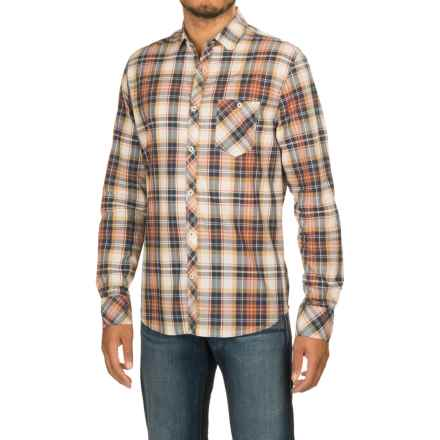 Jeremiah Corbin Voile Plaid Shirt - Long Sleeve (For Men) in Alfredo - Closeouts