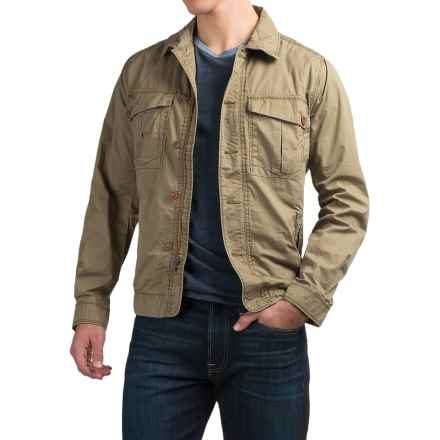 Jeremiah Ford Jacket - Cotton Twill, Relaxed Fit  (For Men) in Soldier - Closeouts