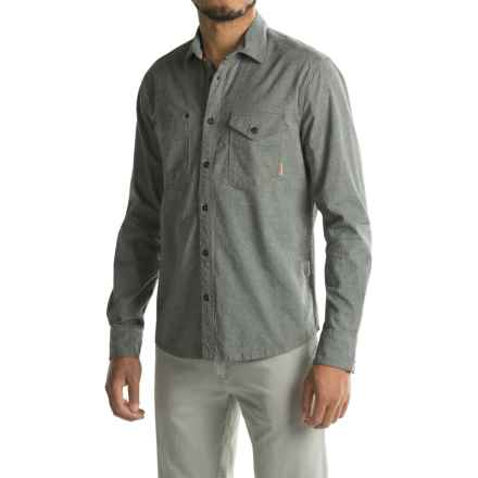 Jeremiah Fort Heavy Chambray Shirt - Long Sleeve (For Men) in Admiral - Closeouts