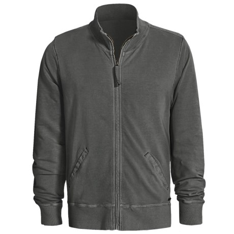Jeremiah Hudson Jacket - Mock Neck (For Men) in Gazel
