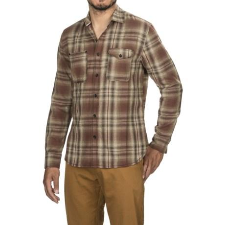 Jeremiah Justus Twist Yard Shirt - Long Sleeve (For Men) in Mahogany