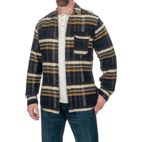 Jeremiah Marshall Reversible Shirt Jacket (For Men) in Caviar