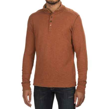 Jeremiah Mitch Double-Face Cotton Shirt - Long Sleeve (For Men) in Chutney Heather - Closeouts