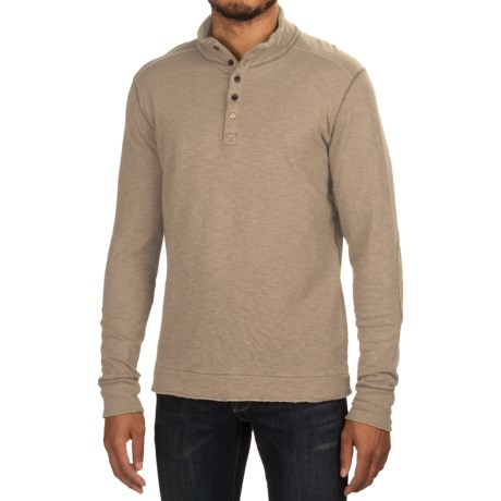 Jeremiah Mitch Double-Face Cotton Shirt - Long Sleeve (For Men) in Feather Heather