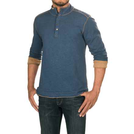 Jeremiah Mitch Double-Face Cotton Shirt - Long Sleeve (For Men) in Insignia Heather - Closeouts