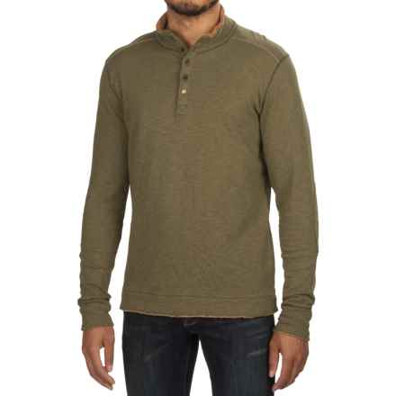 Jeremiah Mitch Double-Face Cotton Shirt - Long Sleeve (For Men) in Tank Heather - Closeouts