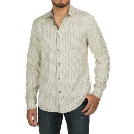 Jeremiah Odell Reversible Printed Shirt - Long Sleeve (For Men) in Silver Birch - Closeouts