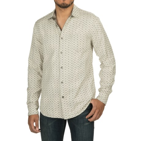 Jeremiah Odell Reversible Printed Shirt - Long Sleeve (For Men) in Silver Birch