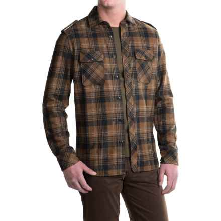 Jeremiah Piedmont Shirt - Long Sleeve (For Men) in Rosewood - Closeouts