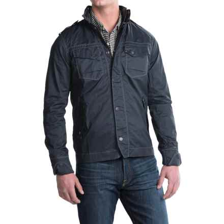 Jeremiah Portland Jacket - Coated Cotton Twill (For Men) in Admiral - Closeouts