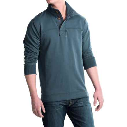 Jeremiah Taylor Pullover Shirt - Mock Neck, Long Sleeve (For Men) in Flood - Closeouts