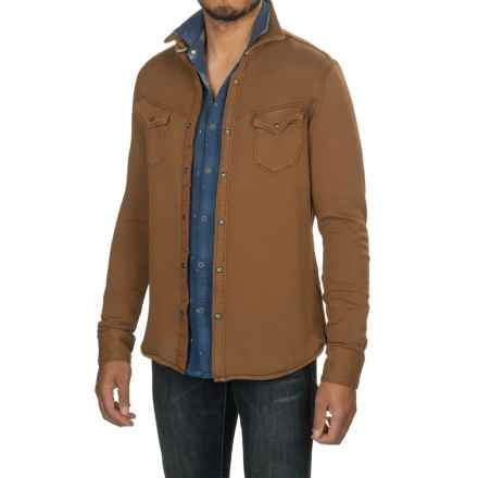Jeremiah Yuma Shirt Jacket - Snap Front (For Men) in Maple - Closeouts