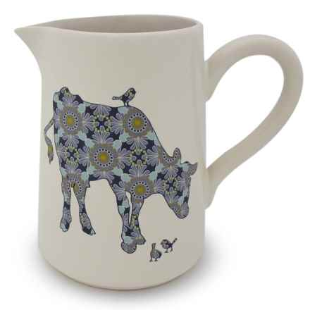 Jersey Pottery Bessie and Lily Ceramic Jug - 4 pt. in Bessie - Closeouts