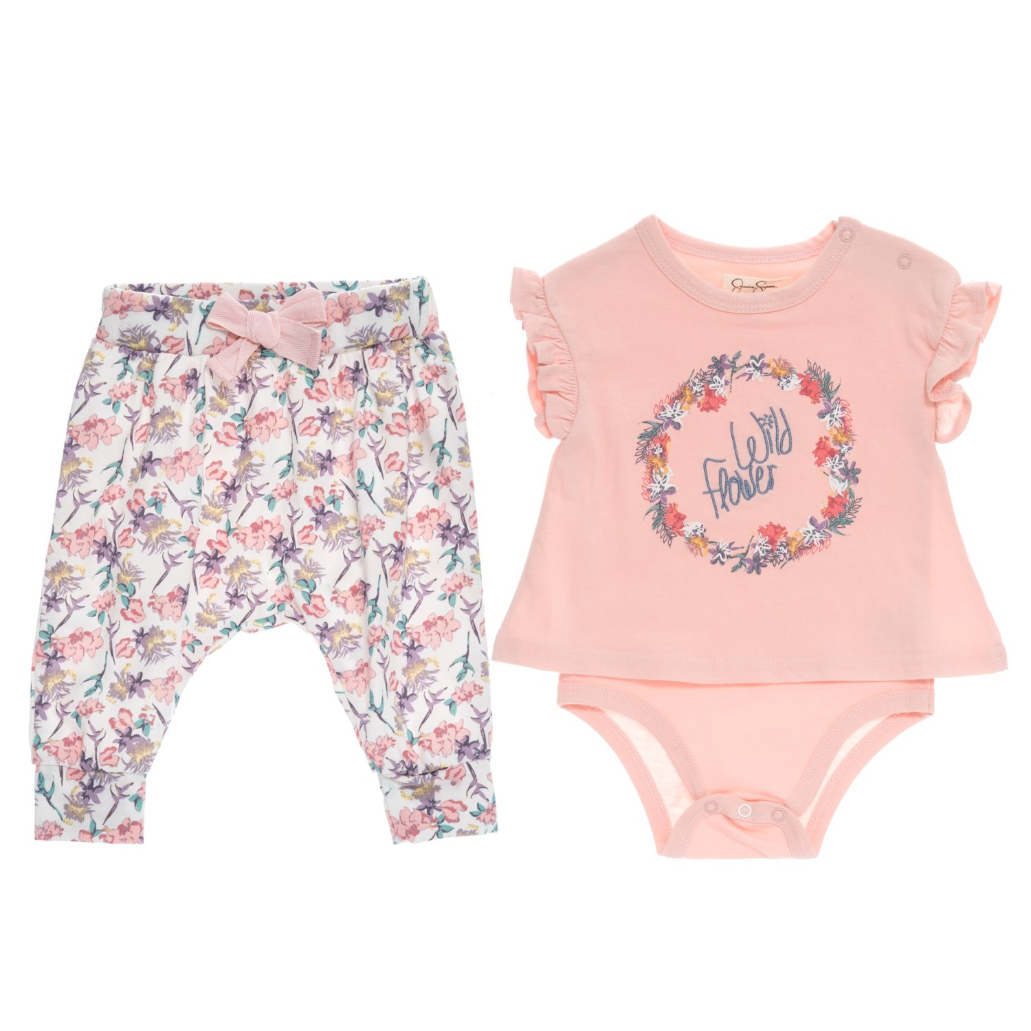 Jessica Simpson Baby Bodysuit And Pants Set For Girls Save 27