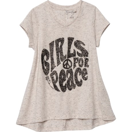 b4bd02eeb Jessica Simpson Graphic T-Shirt - V-Neck, Short Sleeve (For Little