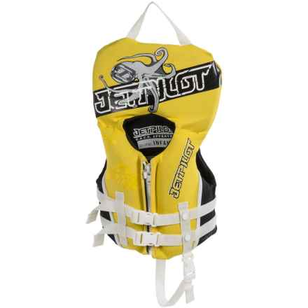 Jet Pilot Type II PFD Life Jacket (For Infants) in Yellow - Closeouts