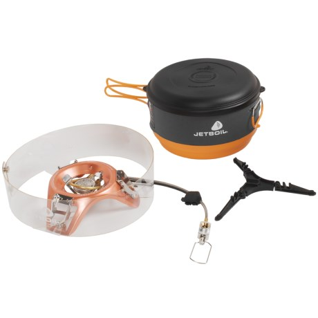 Jetboil Helios Group Cooking System Stove in See Photo