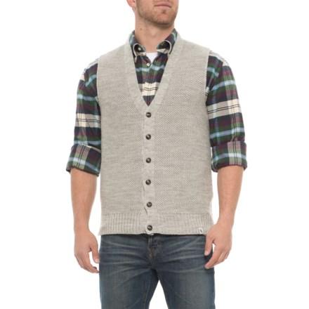 e17759af J.G. Glover & CO. Goodwin Knitted Vest - Merino Wool (For Men) in