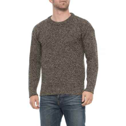 J.G. Glover & CO. Moss Sweater - Merino Wool, Crew Neck (For Men) in Bark - Closeouts