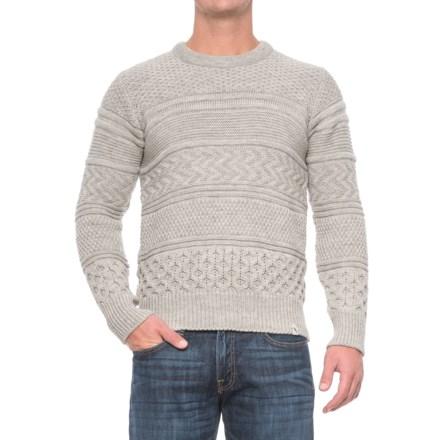 47bfd8b8 Peregrine by J.G. Glover Hilbert Multi-Textured Sweater - Merino